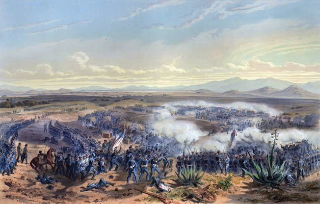 When the Americans attacked General Gabriel Valencia's position at Contreras at dawn on August 20, they caught Valencia's men completely by surprise. In a battle lasting only 17 minutes, the startled Mexicans ran for their lives.