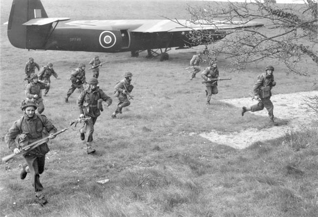 On the Morning of June 6, 1944, British Paratroopers silenced the German gun battery at Merville and saved lives on the invasion beaches of Normandy.