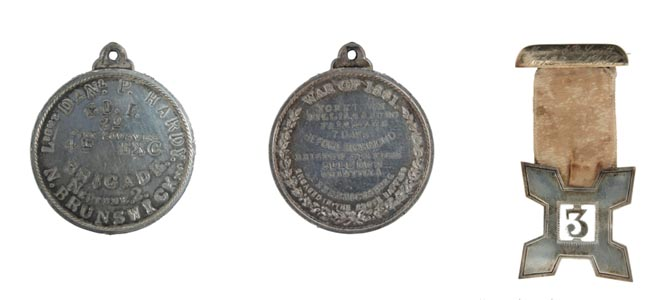 Personal identification badges were worn by soldiers in the Civil War to avoid the dreaded 'nameless grave.'