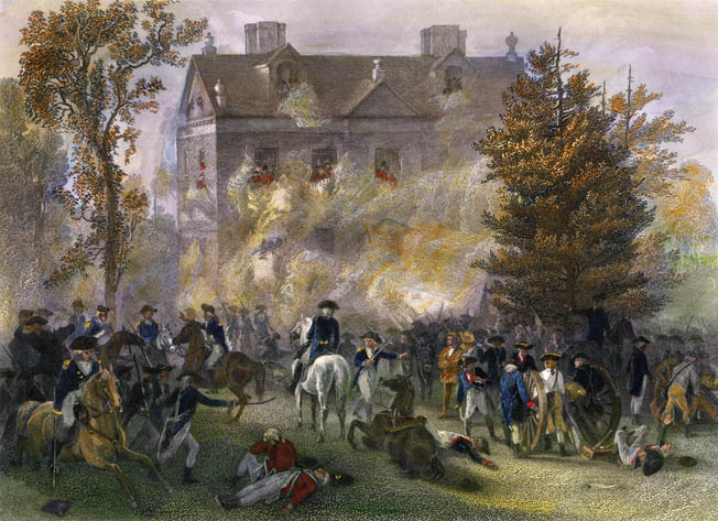 The Patriots failed to capture Cliveden after repeated assault. As the American units withdrew from the grounds of Cliveden, the British launched spoiling attacks against them.