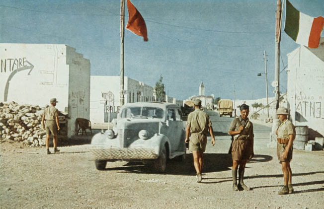 As Operation Crusader erupted on the Egypt-Libya border, an eager force of Commonwealth troops prepared for a drive on Axis-held stronghold Bardia.