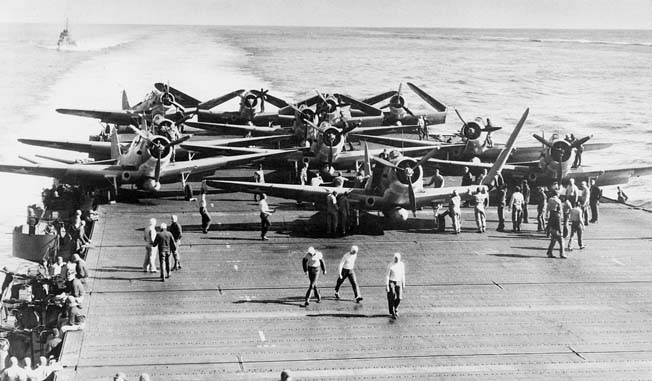During the Battle of Midway four Japanese aircraft carriers were destroyed by American planes, shifting the balance in the South Pacific.