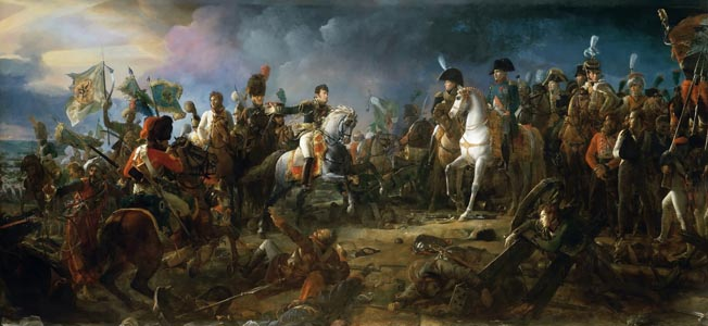 Reacting to a combination aimed at overwhelming him, Napoleon Bonaparte deploys a new fighting formation that eminently proves its worth.