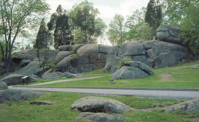 Named by locals, Devil's Den saw the Devil's work during the Battle of Gettysburg as Blue and Gray fought desperately among the boulders.