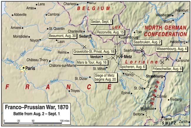 Warfare History Network Battle Of Sedan Napoleon Iii S Empire In