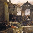 Prussia and France come to grips at the Battle of Sedan in 1870, as Napoleon III's reign ends.