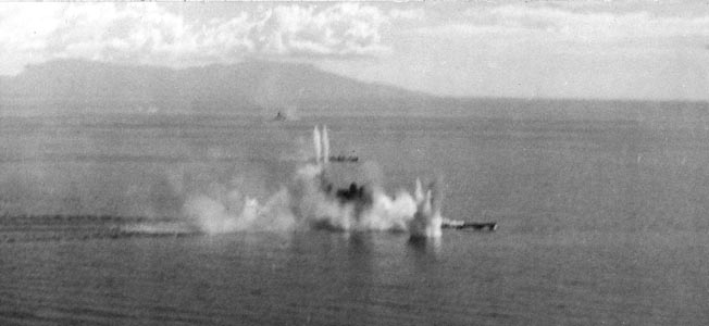 A critical engagement during the Battle of Leyte Gulf, the action in the Battle of the Sibuyan sea inflicted heavy damage on the Imperial Japanese Navy.