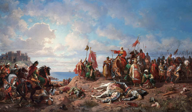 Despite attempts to rally the Crusaders at Varna following the death of Polish King Wladyslaw III in a cavalry charge, Hunyadi was unable to prevent an Ottoman victory.