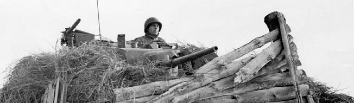 Battle of the Bulge Tank Duel On Christmas Eve