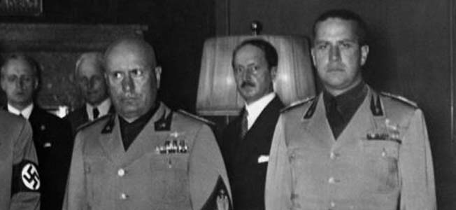 Despite his daughter's pleas, Mussolini ordered his own son-in-law, Count Galeazzo Ciano, executed by firing squad after his conviction for treason.