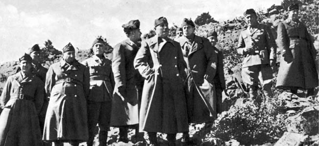 During the Greco-Italian War, Benito Mussolini's fascist army hungered for an easy conquest in Greece, but got more than it bargained for.