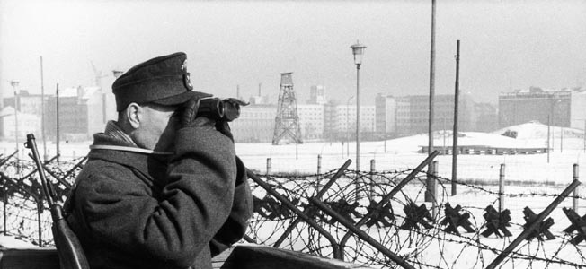Image result for work on the berlin wall begins