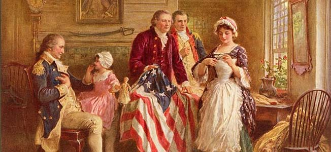 Betsy Ross is the principal character in one of the most enduring stories of the American Revolution, the making of the first American flag for General Washington's army.