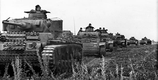 The great tank battle at Kursk was a significant defeat for the German Army on the Eastern Front, and one of Hitler's favorite commanders, General Walter Model, failed him at a critical time during the action. Bundesarchiv Bild 101I-219-0562A-06; Photo: Scheffler