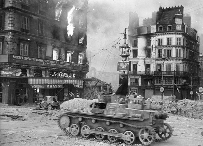 Rouen first felt war's impact when the 5th Panzer Division rolled through during the German invasion in June 1940.