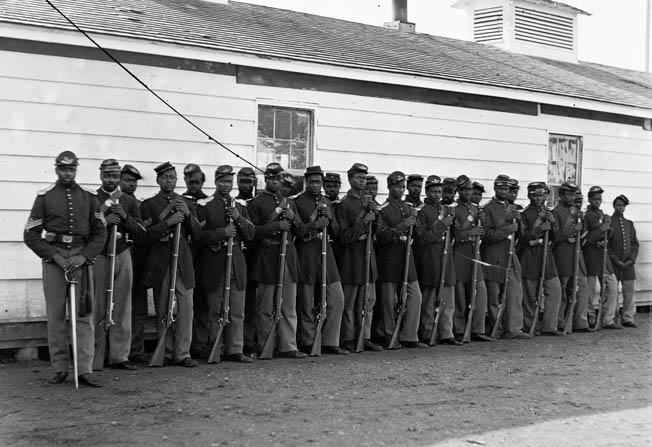 Confederate survivors of the Battle of Franklin shivered in their thinly held lines outside Nashville as the Black soldiers made their advance.