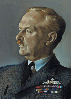 Controversial 'Bomber' Harris shaped the British strategic air offensive against Nazi Germany as head of the Royal Air Force Bomber Command.