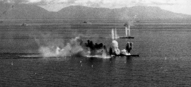 The naval combat that raged around the Philippines invasion was preceded by a game of reconnaisance, intelligence gathering, and planning.