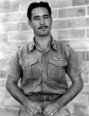 Boyd Wagner and his squadron mates flying P-40 fighters held the line for a time in the Philippines.
