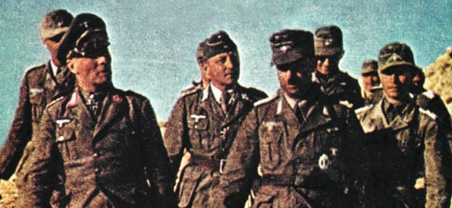 A daring team of commandos set out to eliminate the biggest obstacle to British fortune, German General Erwin Rommel.