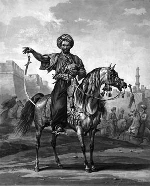 Mameluke commander Murad Bey bragged that his horsemen would carve up the French infantry.