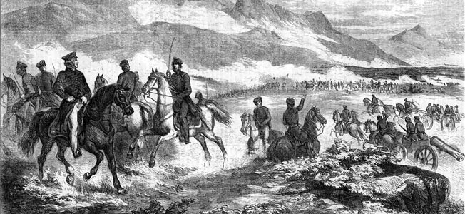 Taylor initially had scoffed at the possibility that an enemy force of any consequence could undertake such an arduous trek. Confidently, he had advanced as far as Agua Nueva, seven miles south of Saltillo.