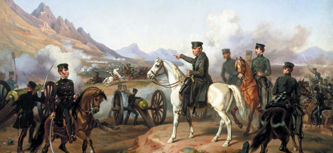Outmanned 3-to-1, the tiny American army of General Zachary Taylor prepared to meet the oncoming hordes of Mexican leader Antonio Lopez de Santa Anna.