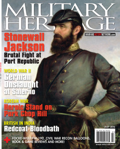 Military History Magazine Cover