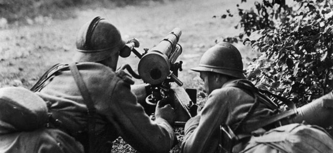 The German concept of mobile warfare was conclusively proven when the Wehrmacht breached the French defenses at Sedan in May 1940.