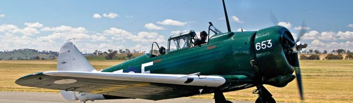 NA-16 Wirraway: From Trainer to Fighter