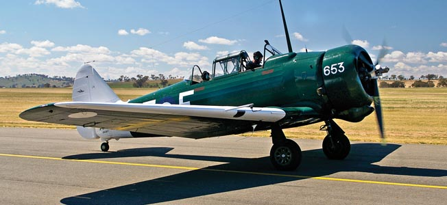 The Australian Wirraway was forced into a role for which it was not intended during World War II.