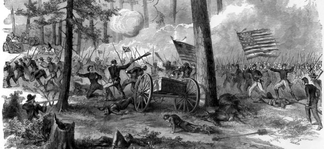 "With William Tecumseh Sherman's notorious ""bummers"" closing fast, a ragtag confederate army prepared to make its last stand."
