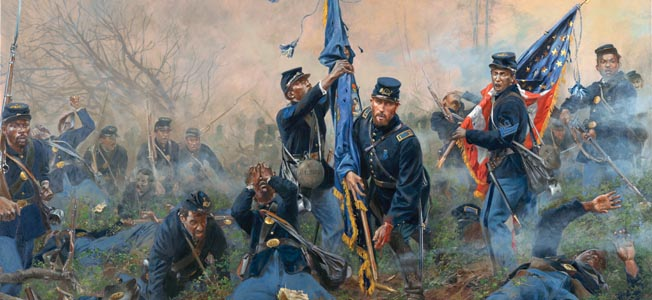 In late September 1864, Ulysses S. Grant mounted his fifth offensive against Confederate forces at Petersburg, Virginia.