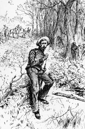 A Confederate artillerist from the Richmond Howitzers fought as infantry at Sayler's Creek after escaping from Petersburg.