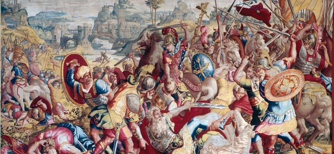 The careers of Thutmose III, Sargon II, Hannibal, Scipio Africans, Philip II, and Caesar Augustus teach many lessons needed to lead men into battle.