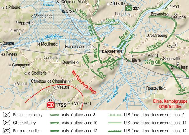 Carentan MAP