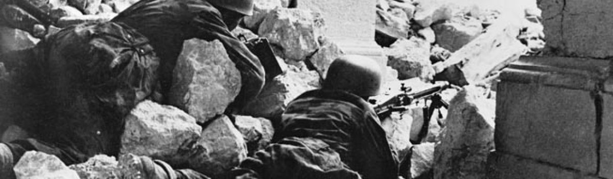 Barrier at Monte Cassino