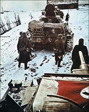 "A combination of rigidity in command and lack of coordination of the Russian forces, coupled with Hitler's ""no retreat"" order and stubborn German resistance, foiled the Soviet dictator's grandiose plan."