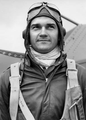 American Volunteer Group (AVG) pilot Charlie Bond fought the Japanese in the skies above China.