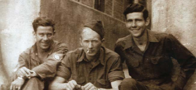 "Roy Morris Jr. recalls his father's combat experience as a member of the ""Cross of Lorraine"" division in World War II."
