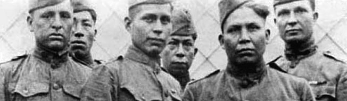 Choctaw Code Talkers in World War I