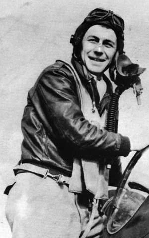The aviation pioneer Chuck Yeager was an ace in the European Theater during World War II.