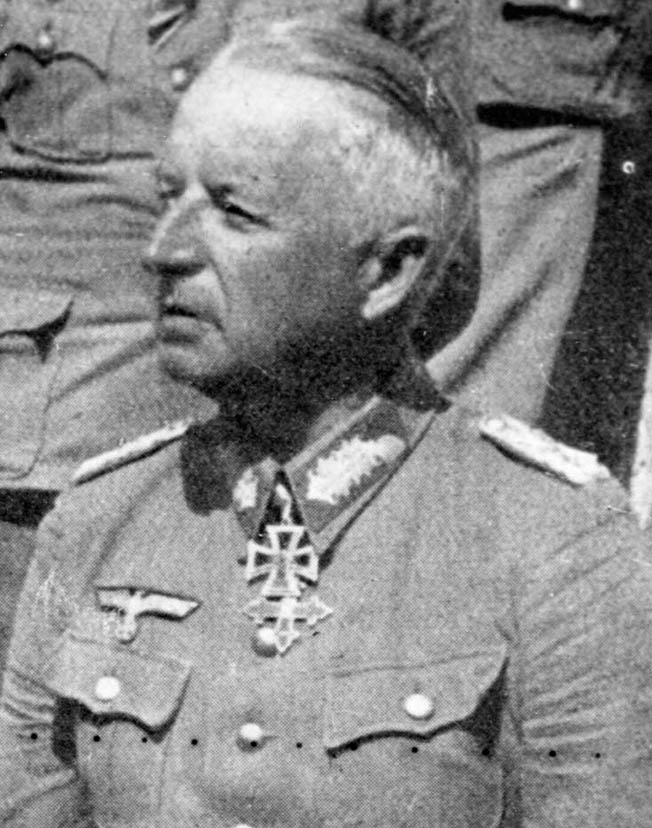 German Field Marshal Erich von Manstein led the German forces tasked with reducing the Kursk salient.