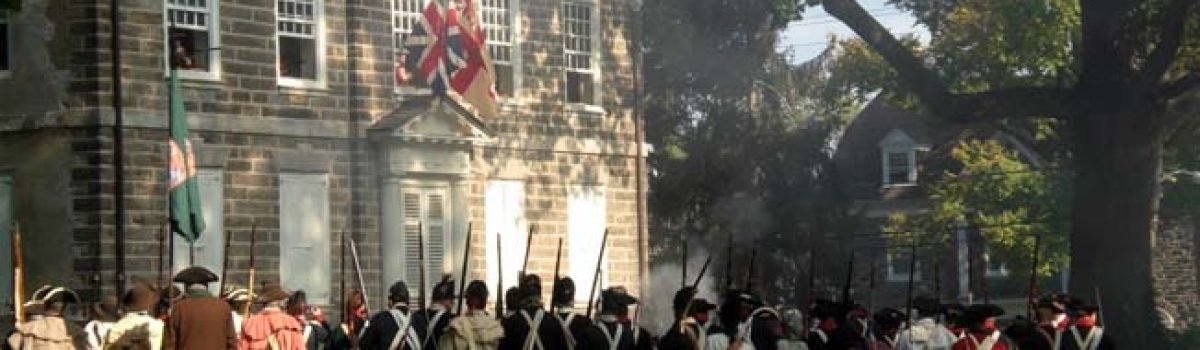 The Cliveden Reenactment of the Battle of Germantown