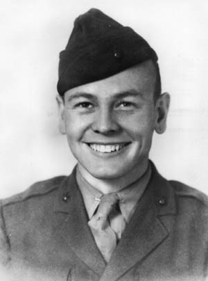 Sergeant Darren S. Cole, the first of 27 Americans to earn the Medal of Honor during the battle.