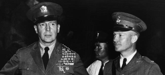 The contrasting styles of Generals of the Army Dwight D. Eisenhower and Douglas MacArthur both proved to be war winners during global conflict.