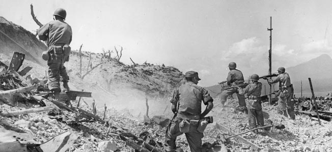 American airborne and ground troops swiftly captured the fortress island of Corregidor in Manila Bay with a coordinated operation in early 1945.