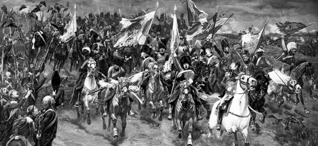 Count Jean Rapp, always in the thick of the fighting, won a battle after Waterloo during the Napoleonic Wars.