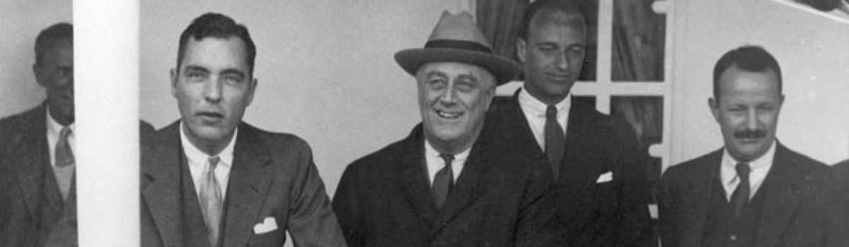 Creating the OSS: FDR's Network of Personal Spies