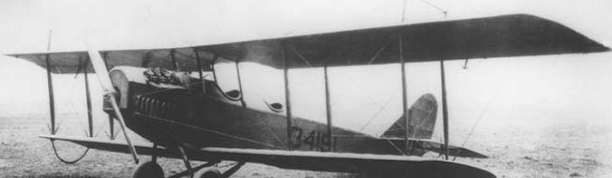 Curtiss Flying Jennies Pursue Pancho Villa Across Northern Mexico